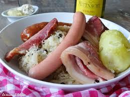 cuisiner choucroute crue choucroute garnie alsacienne la cuisine d adeline