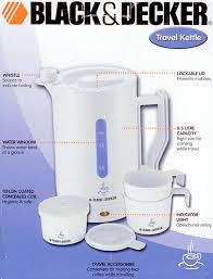 Decker ja08 travel kettle for 220 volts