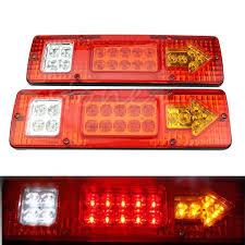 led lights for trucks and trailers truck trailer van 12v led rear tail stop reverse indicator light