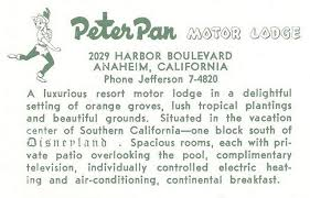 peter pan motor lodge u2013 anaheim ca