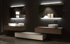 Lighted Bathroom Mirrors Backlit Bathroom Mirror Style Top Bathroom