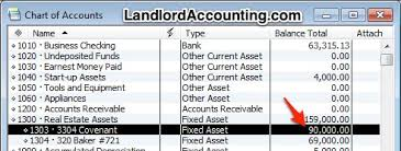 Quickbooks Chart Of Accounts Excel Template Chart Of Accounts Property Management In Quickbooks