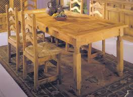 Mexican Dining Room Furniture Rustic