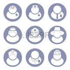 berufe mit design menschen berufe und berufe symbol im flachen design 1 gesetzt