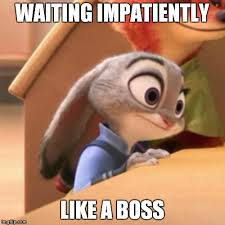 Waiting Memes - impatiently waiting meme mne vse pohuj