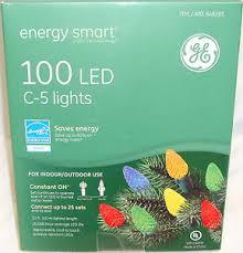 ge energy smart 100 led c 5 c5 multi color light string holiday