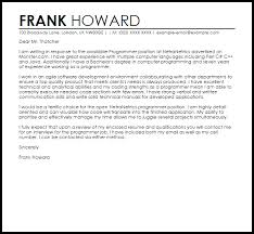 examples of cover letter for jobs perfect examples of covering