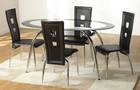rectangle glass kitchen table black glass dining room table and chairs brilliant with round home
