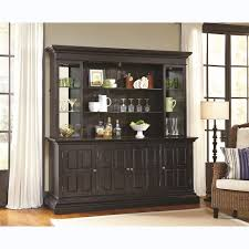 pulaski 675904 burton back bar hutch top and back panel in dark