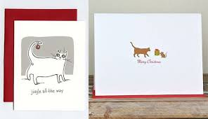 christmas cards themed handmade cards with feline flair cat cat and cat