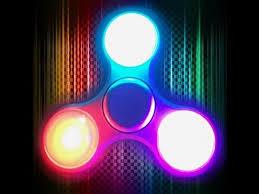 fidget spinner light up blue omg i broke my light up fidget spinner c youtube