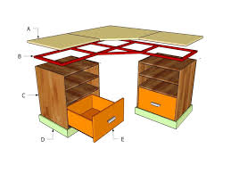 Desk Plans by L Shaped Desk Plans Free Desk Design Diy Homemade L Shaped