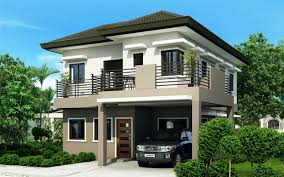 Sheryl  Four Bedroom Two Story House Design  Pinoy ePlans  Modern