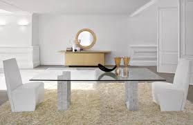 Living Room Glass Table Contemporary Dining Room Sets Glass Top Gallery Startupio Us F To