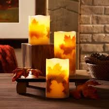 Bed Bath And Beyond Chico Ca Loft Living 3 Piece Flameless Led Harvest Pillar Candle Set Bed