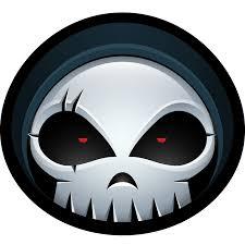 skull halloween monster skeleton reaper bones grim icon