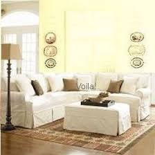 Slipcover Sofa Sectional Friday Twill Slipcovered Sectional Found At Jcpenney