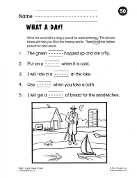 phonics worksheet 50