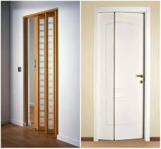 Interior Doors For Small Spaces Folding Door For Bathroom Captivating With Photos On Interior