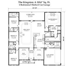 dr horton single story floor plans the kingston rock creek biloxi mississippi d r horton
