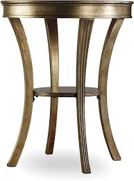 accent tables for living room hooker furniture living room sanctuary round mirrored accent table