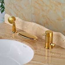 monora brushed nickel waterfall tub faucet three handles waterfall bathtub faucet set best waterfall 2018