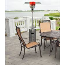 Stainless Steel Patio Heater 7 Ft Steel Umbrella Propane Patio Heater In Stainless Steel