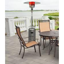 patio propane heater 7 ft steel umbrella propane patio heater in stainless steel
