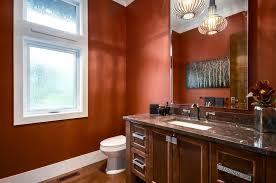 splendid burnt orange paint colors with hardware dark wood