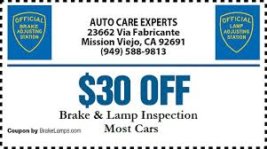 brake and light inspection locations brake and l inspection mission viejo brake and light inspection