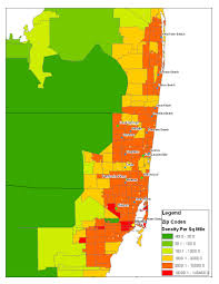 Miami Beach Zip Code Map by Is There A Best Way To Determine Comparative City Population