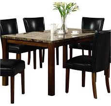 casual cherry dining table only coaster 120310