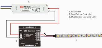 surprising design ideas strip light wiring diagram diagrams led