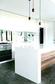 modele cuisine blanc laqué cuisine blanche en bois deco cuisine blanc et bois la cuisine