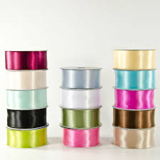ribbon wholesale 1 5 wired poly satin ribbon wholesale flowers and supplies