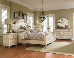 furniture chateau poster bedroom set in in bisque paint
