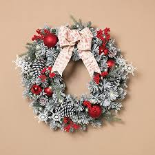 cheap large lighted wreaths for outdoors discounts sales and