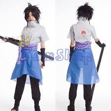 Naruto Halloween Costumes Adults Aliexpress Buy Anime Naruto Uchiha Sasuke 4th Gen Cosplay
