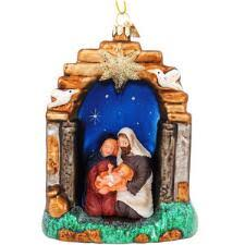 nativity ornaments bronner s