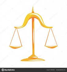 imagenes animadas de justicia gratis oro escala de justicia vector de dibujos animados ilustración