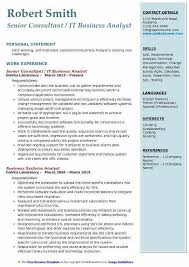 Business Analyst Resume Template Awesome Resume Samples Lukex Co