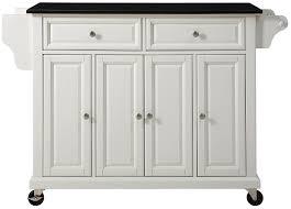 Crosley Furniture Kitchen Cart Amazon Com Crosley Furniture Rolling Kitchen Island With Solid