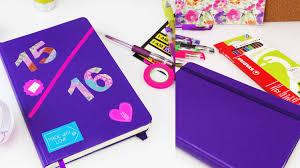 kreative ideen diy diy kalender schülerkalender selber machen back to school