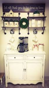Bar Hutch Best 25 Home Coffee Bars Ideas On Pinterest Home Coffee