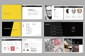 Portfolio Brochure Template modern portfolio booklet 36 pages brochure templates creative