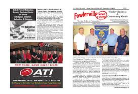 fowlerville news u0026 views online by steve horton issuu