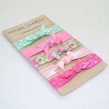 elastic hair ties floral elastic hair tie set everyday embellished