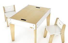 kids play table and chairs etsy finds modern child table set handmade charlotte throughout kids
