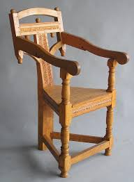 Wainscot America This 3 Legged Wainscot Chair Is An Interesting Twist To A Chair