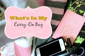 10 Must Carry On Essentials by Travel Essentials For Flights What S In My Carry On
